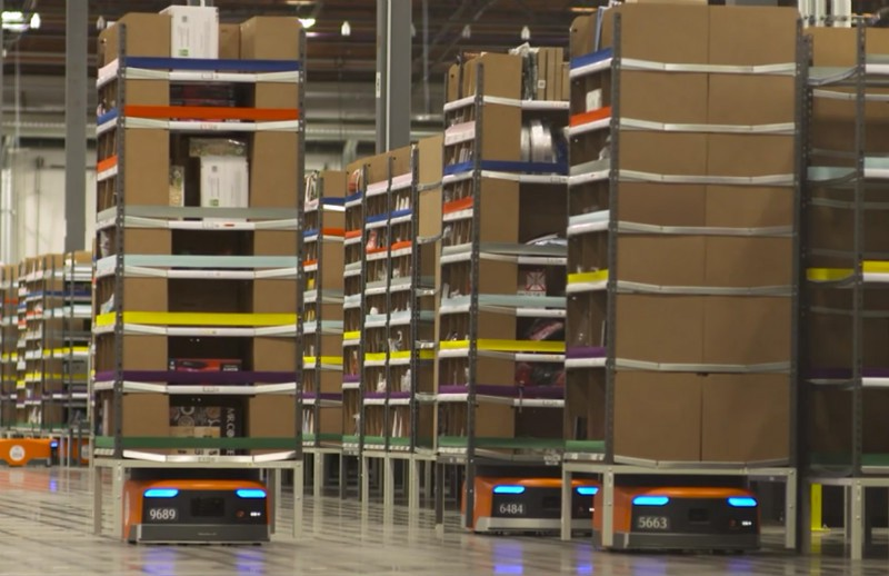 Amazon Robotics Moves the Warehouse